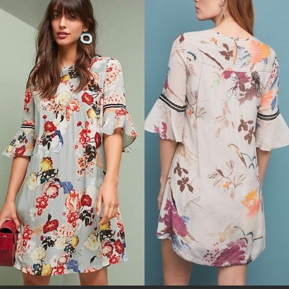 62c771447c5f Anthropologie Dresses & Skirts - Anthropologie Vineet Bahl Fleur Tunic  Dress SizeXS